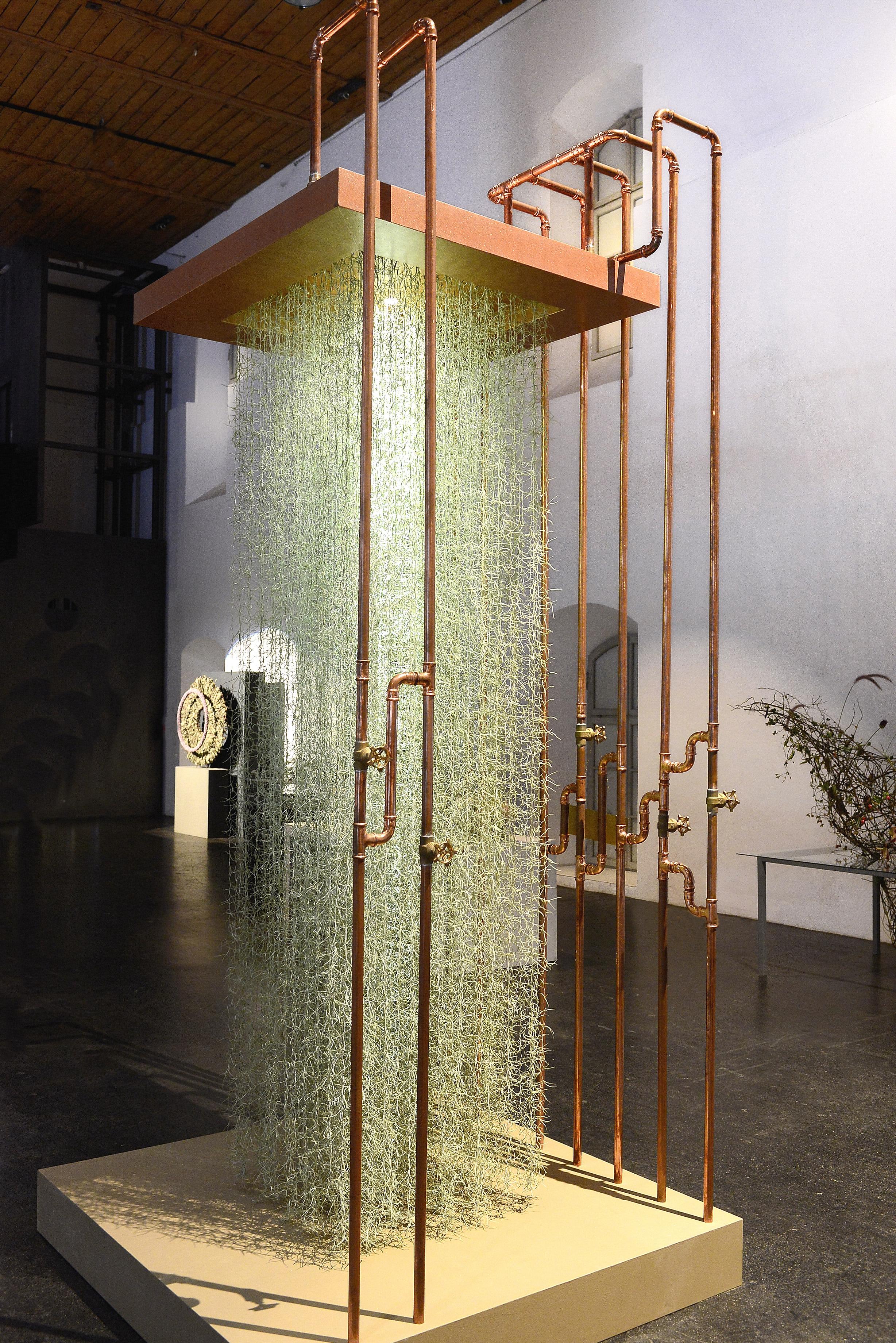Einmaligkeit in schönster Ausprägung - 'Wasserinstallation' von Pia Bauer.