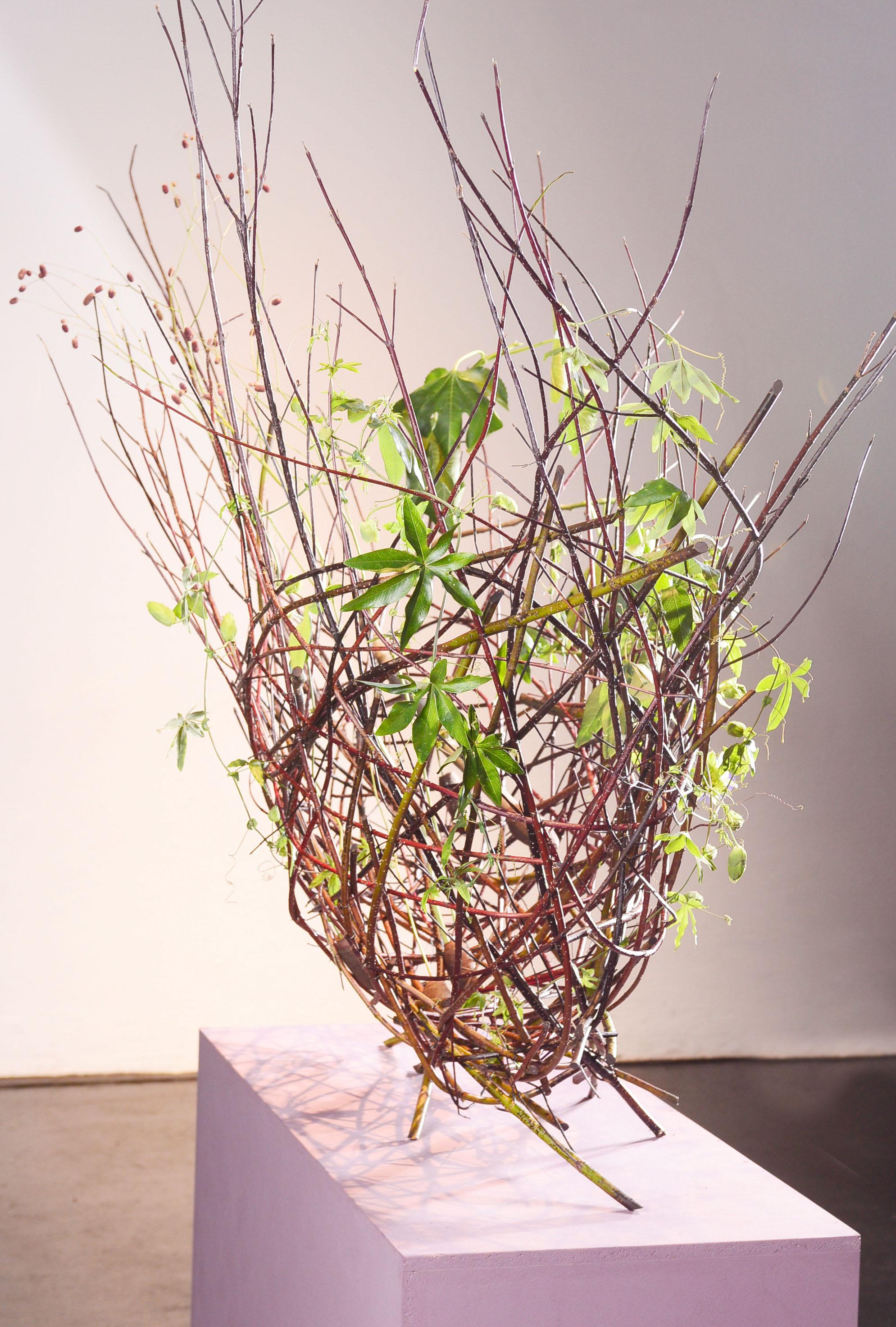 Freistehende Hohlkörperform von Sabine Doughan