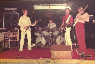 Early gig promotional photo (1975)