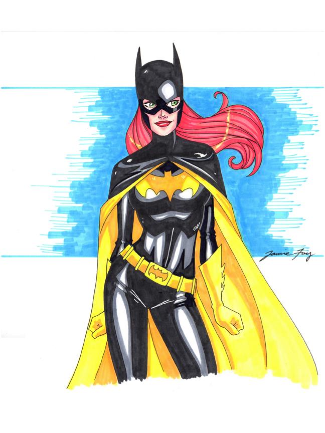 Batgirl by Jamie Fay