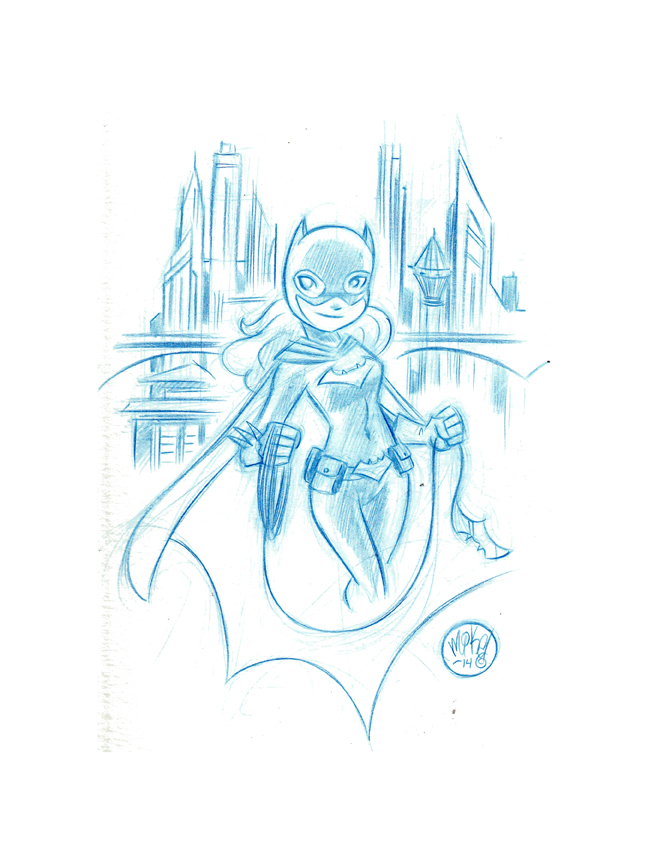 Batgirl by Mike Maihack