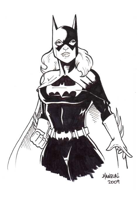 Batgirl by Carlos Mangual