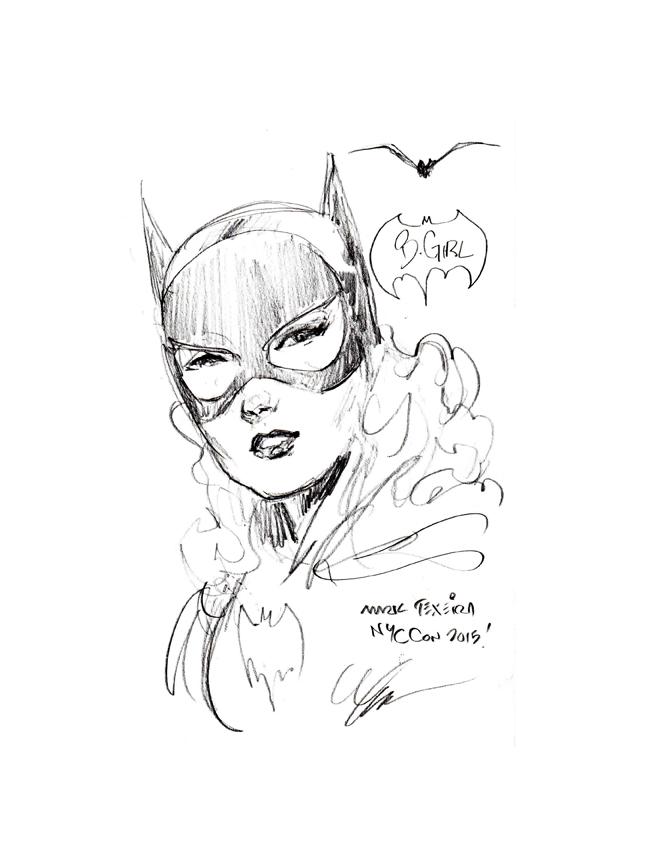 Batgirl by Mark Texiera
