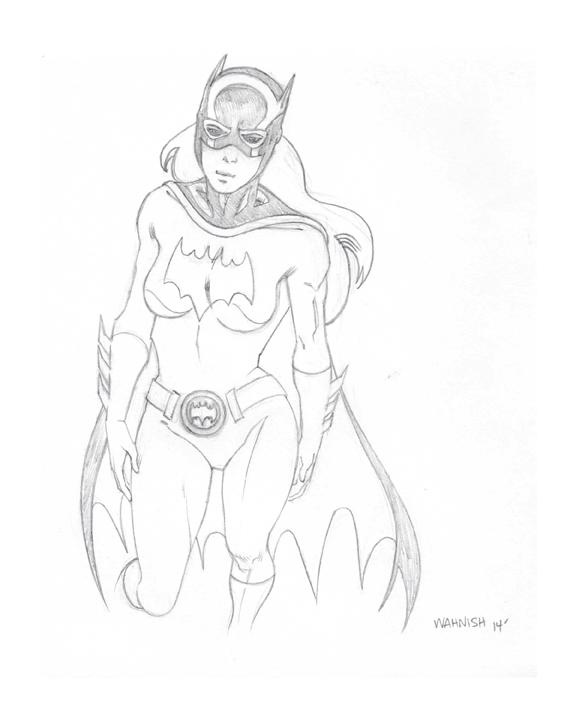 Batgirl by Todd Wahnish