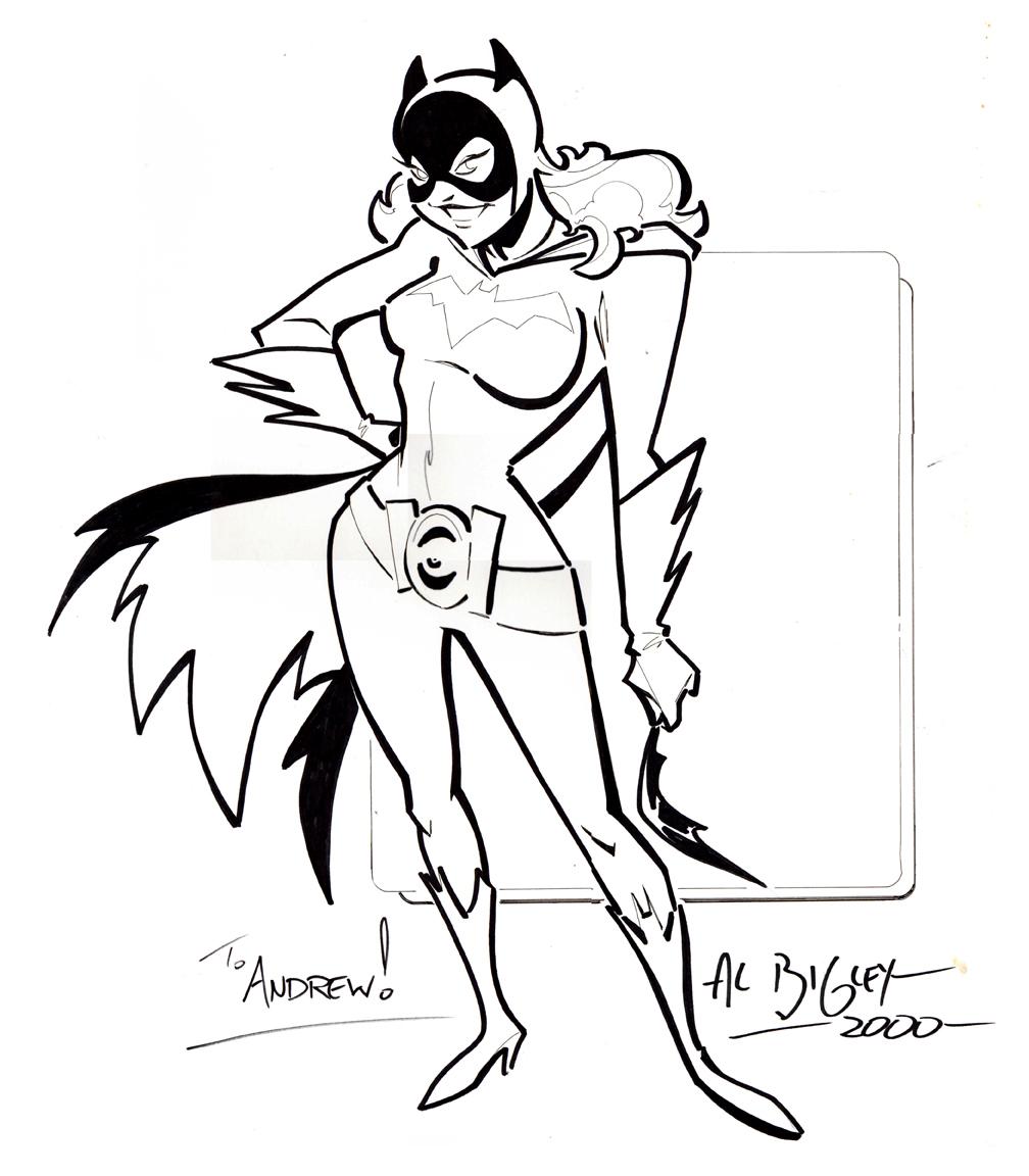 Batgirl by Al Bigley