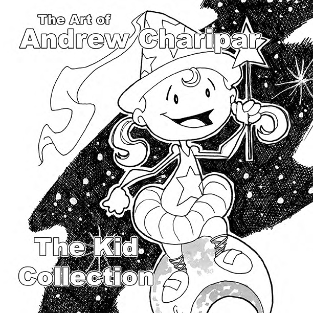 The Art of Andrew Charipar The Kid Collection PDF