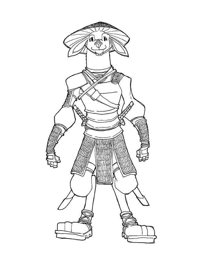 Legendary Warrior, Master Yang