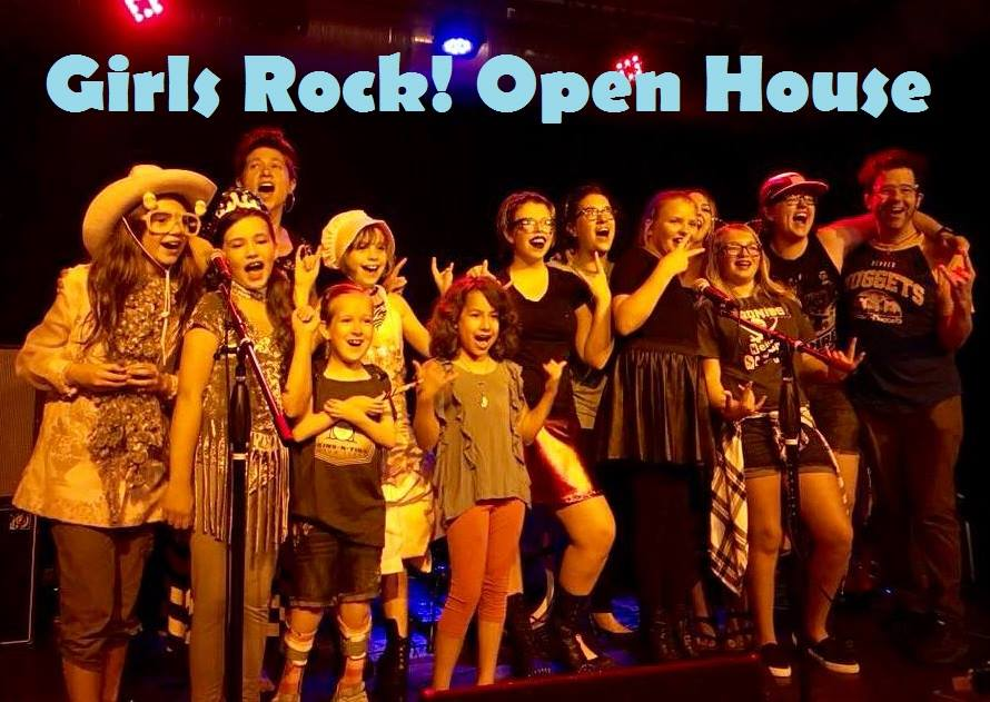 Girls Rock! C-U Open House - Learn about Girls Rock! We will have instrument stations and live performances. FREE & all ages!
