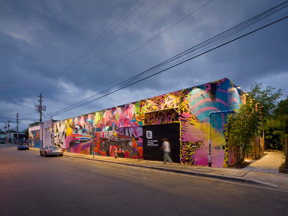 The Lightbox in Miami Wynood District