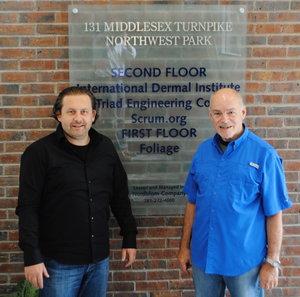 Joe Krebs and Ken Schwaber at Scrum.org in Boston