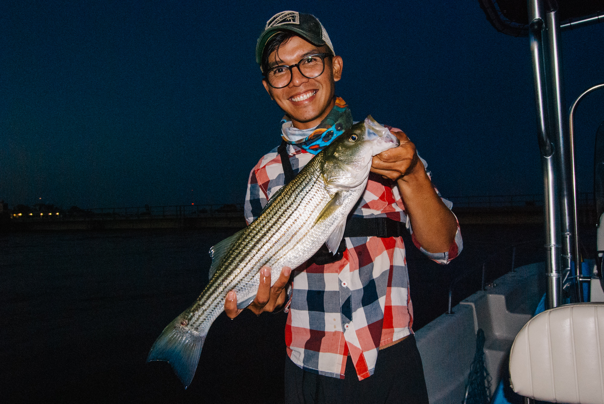 Harbour Yacht Club and Marina Striped bass