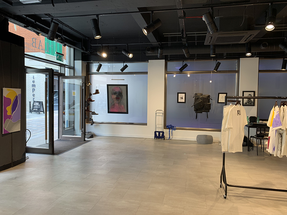 T-Project , 2019 installation view  Labstore London
