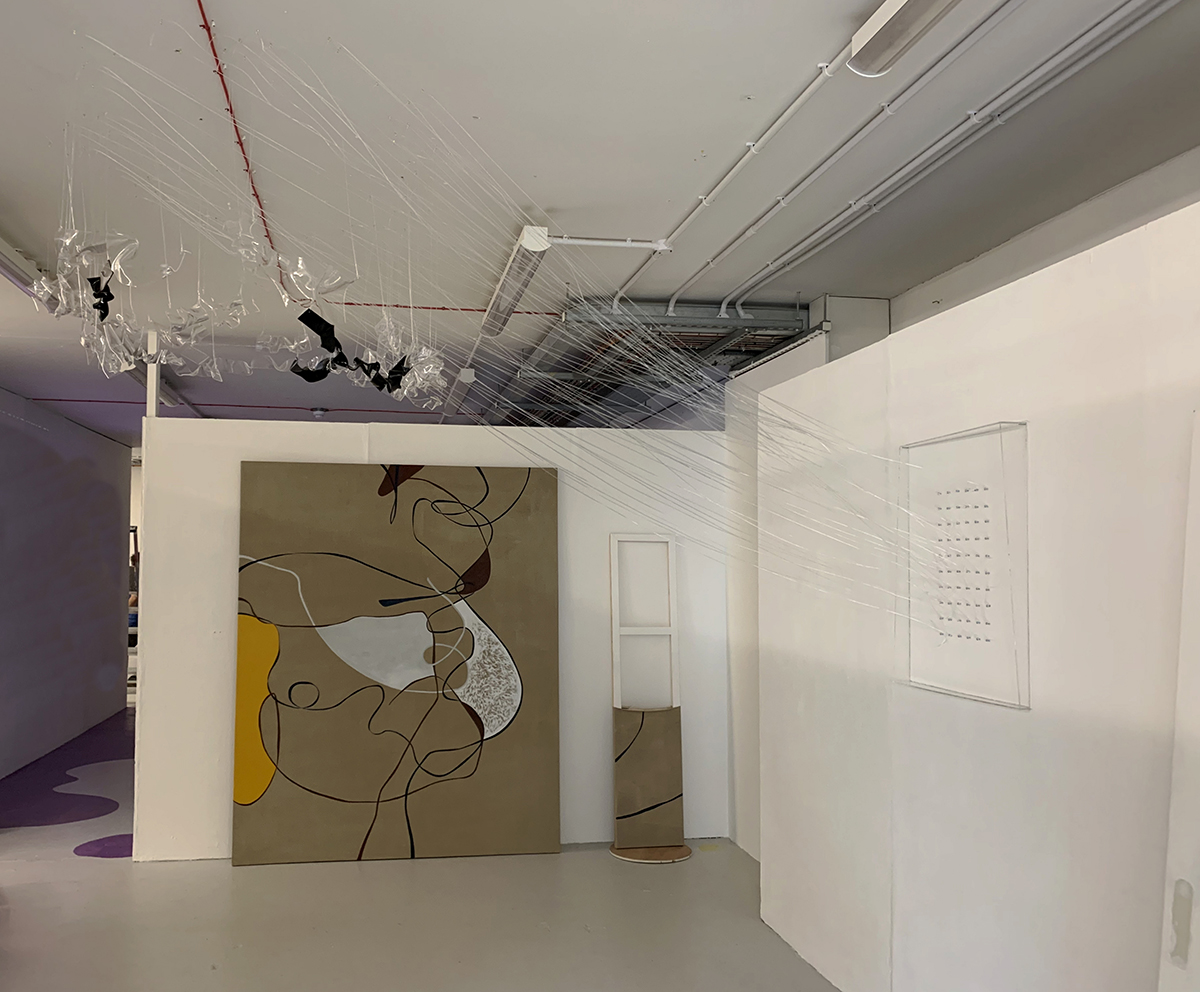 Lucid Dreaming , 2019  installation view