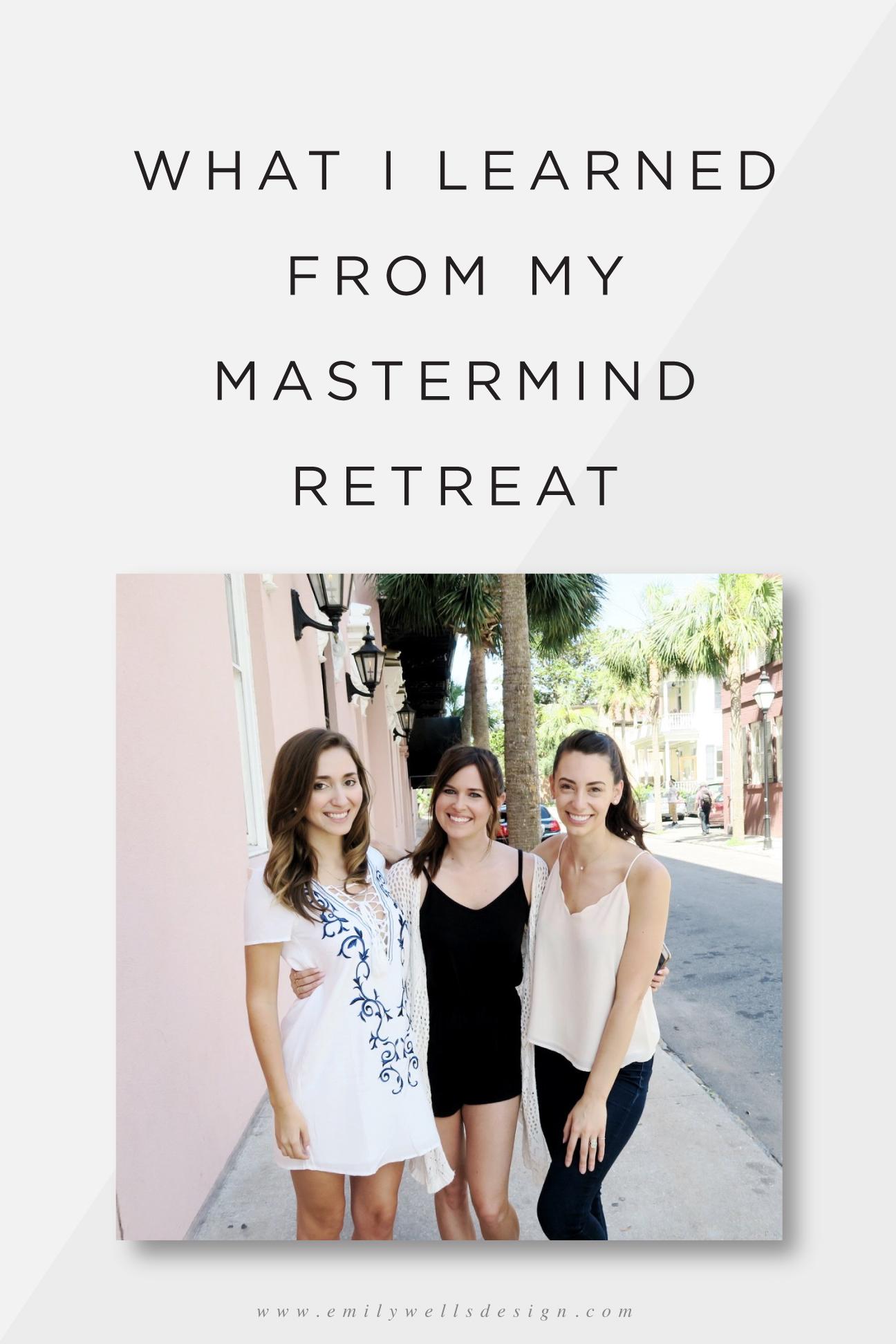 Mastermind Retreat in Charleston, SC