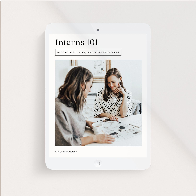 Interns 101 Course | $95