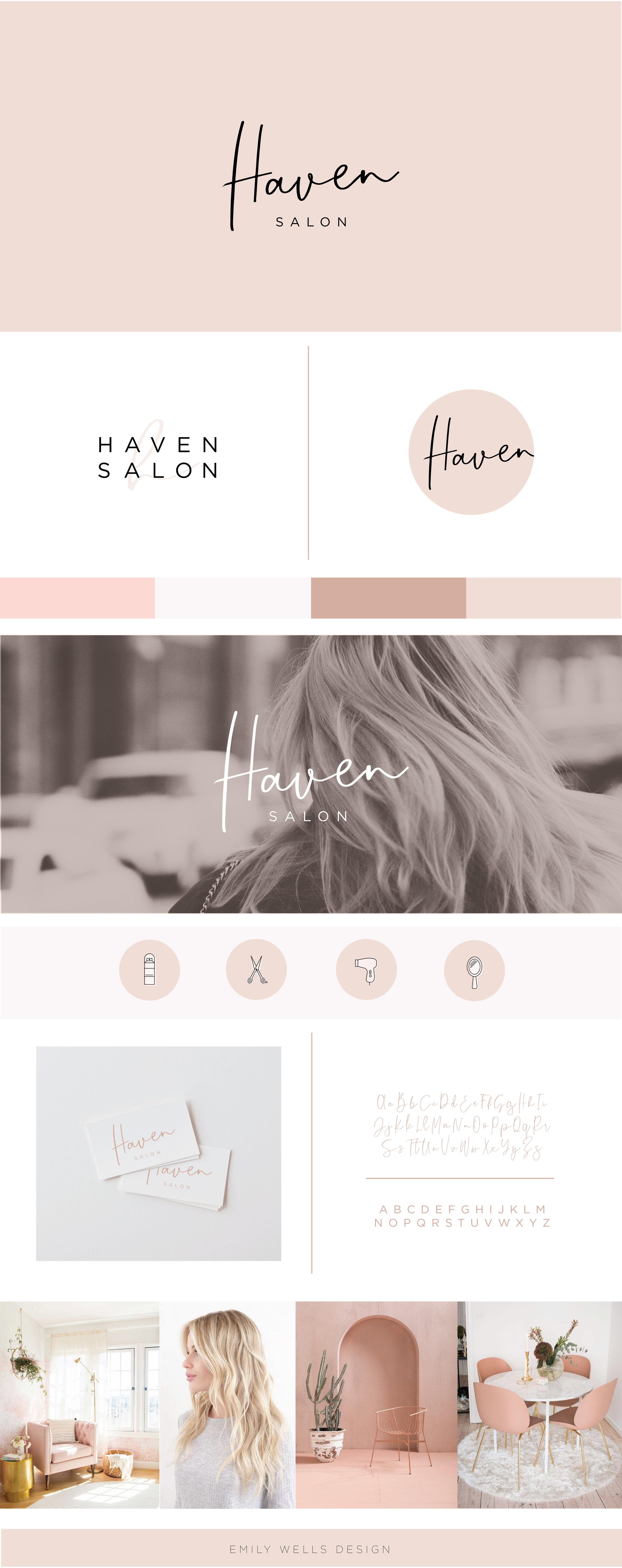 Haven-Salon-Brand Board-01.jpg