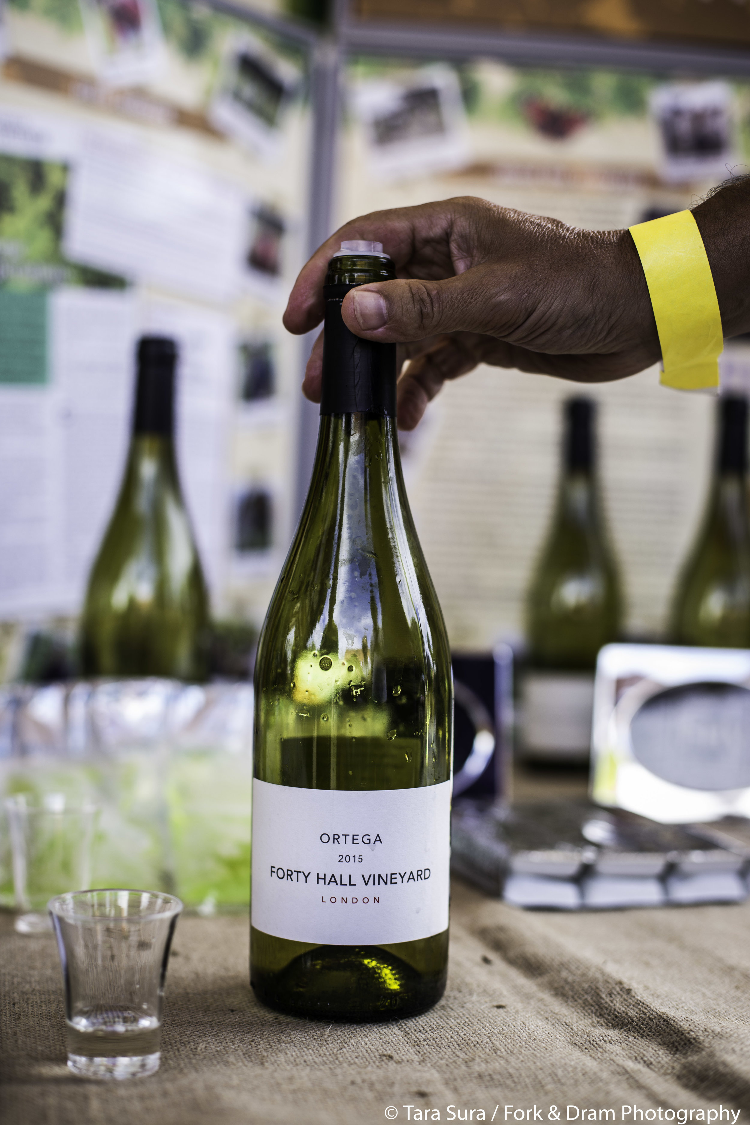 Forty Hall Vineyard  Enjoy a glass of wine from London's only commercial vineyard, based right here on Forty Hall Farm and take home bottles of their acclaimed 2016 2016 Ortega and 2015 Sparkling London Brut   https://www.fortyhallvineyard.com/   Photo:Tara Sura/ Fork and Dram