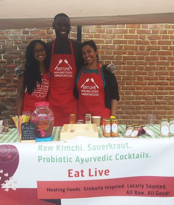 Eat Live  Delicious fermented kimchi and krauts - made in Enfield   http://www.eatlive.co.uk/