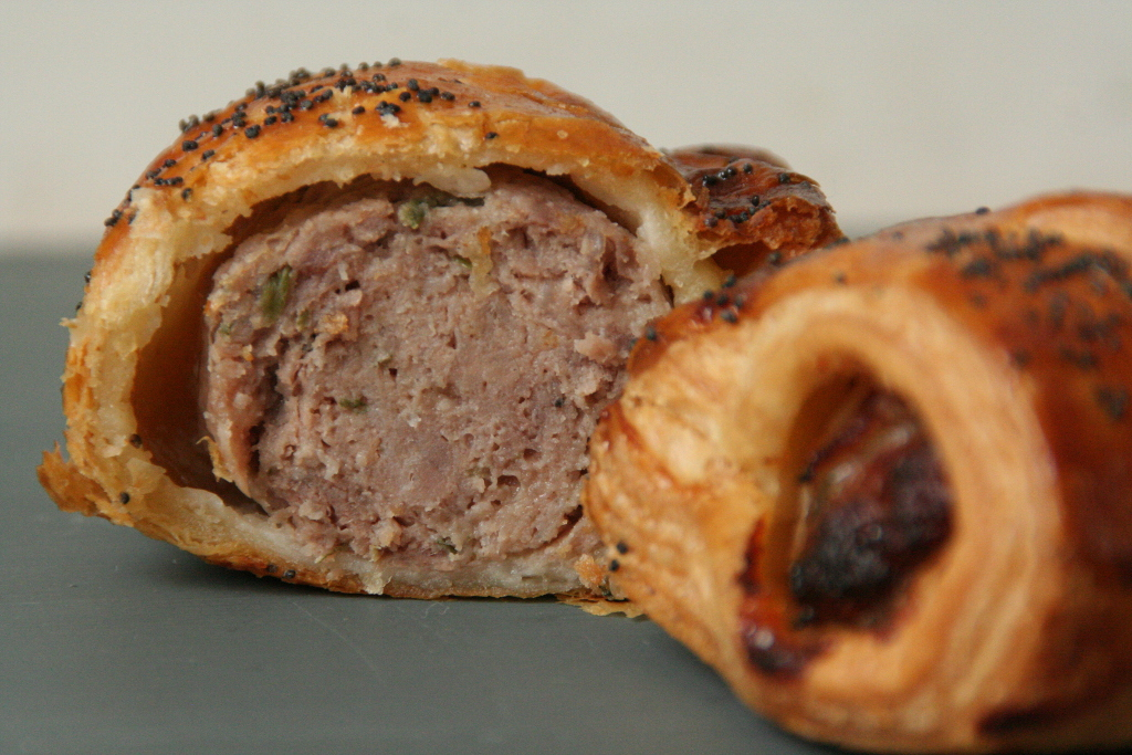 Holtwhites will also be serving up their luxury sausage rolls, made with pork from the Farm and vegetarian Falafel rolls too!