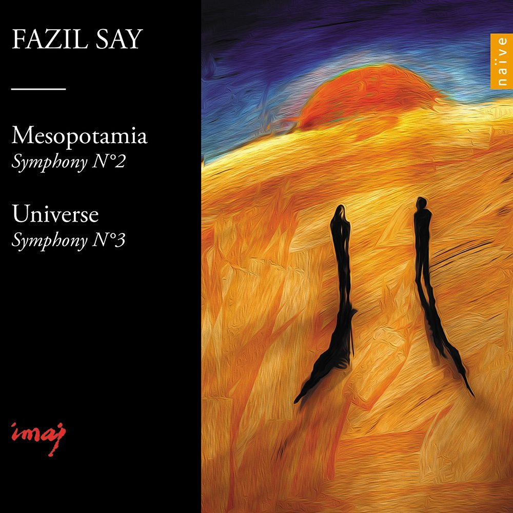 Fazil Say_Mesopotamia and Universe_CoverImage