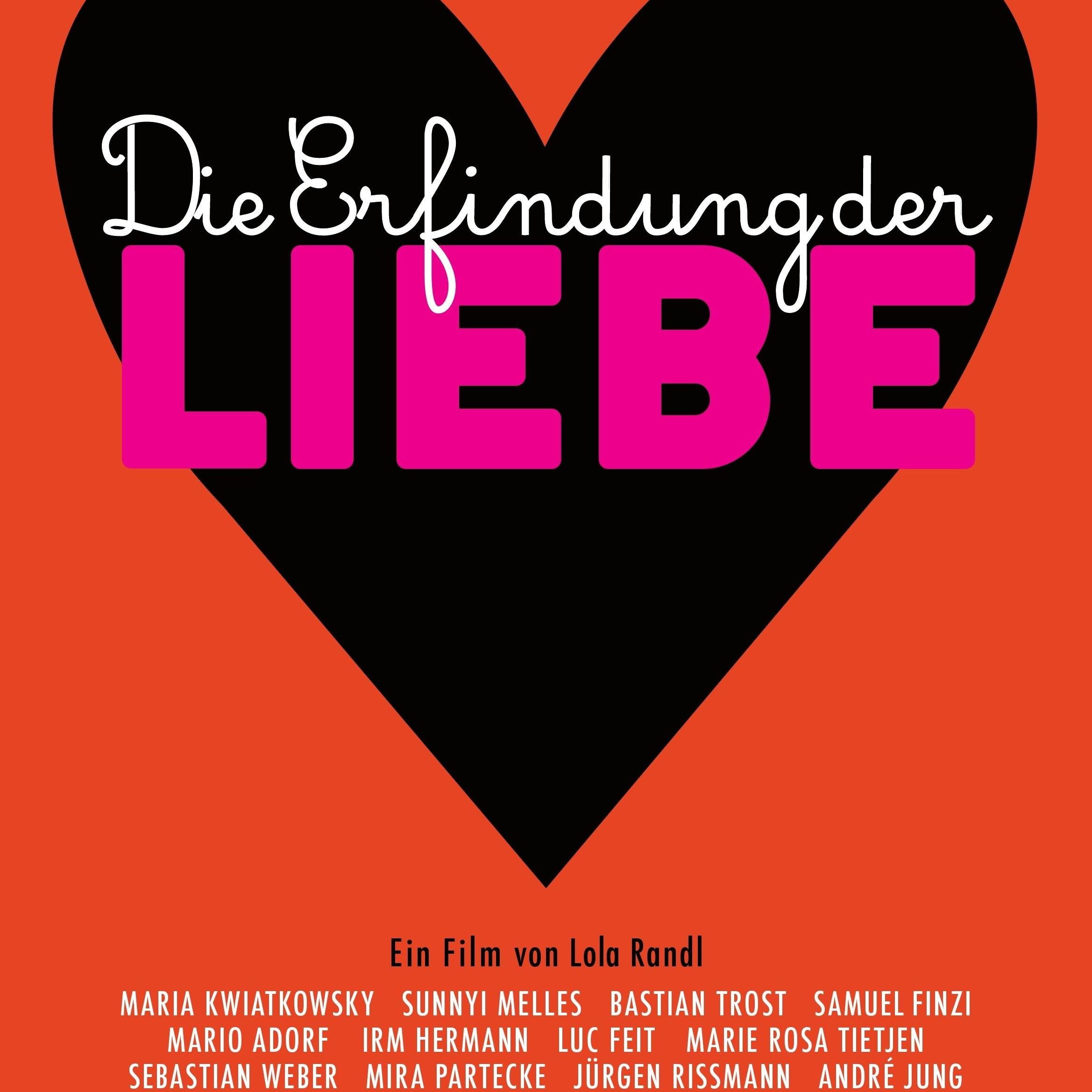 DIE ERFINDUNG DER LIEBE  (2015) MOVIE/DVD: film music by Maciej Sledziecki