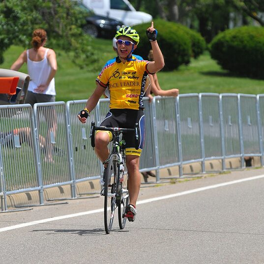 HVT Athlete Ryan Munko took the 2013 Tour of the Valley Stage Race Yellow Jersey home!