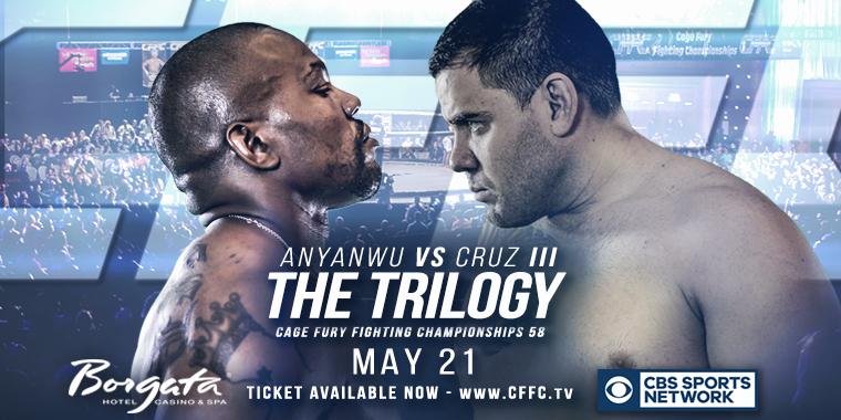 CFFC 58: Anyanwu vs Cruz III - THE TRILOGY