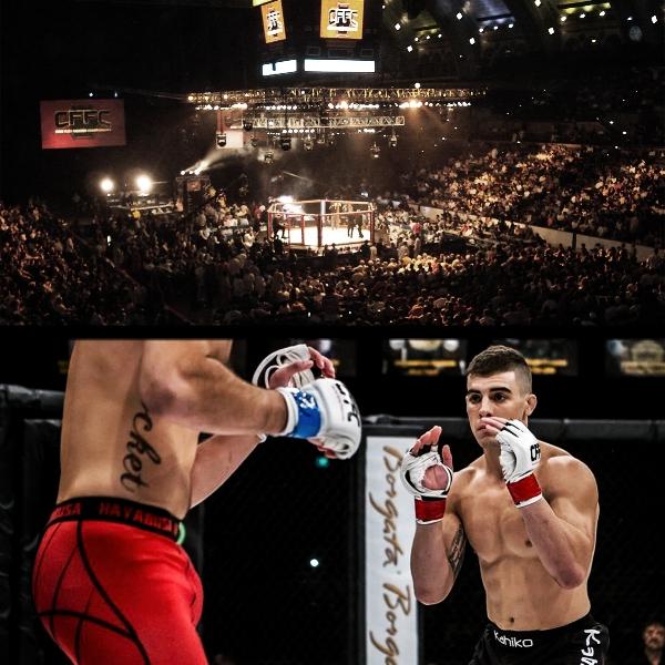 Joe Solecki at Cage Fury Fighting Championships