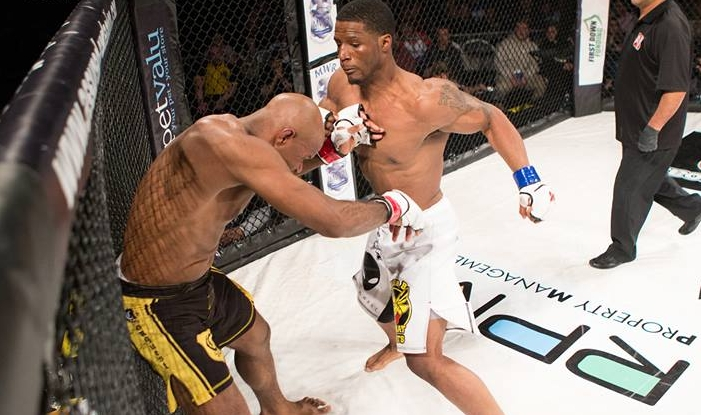 Karl Roberson scored a TKO victory Eljiah Gbollie at Shogun Fights 16 back in March