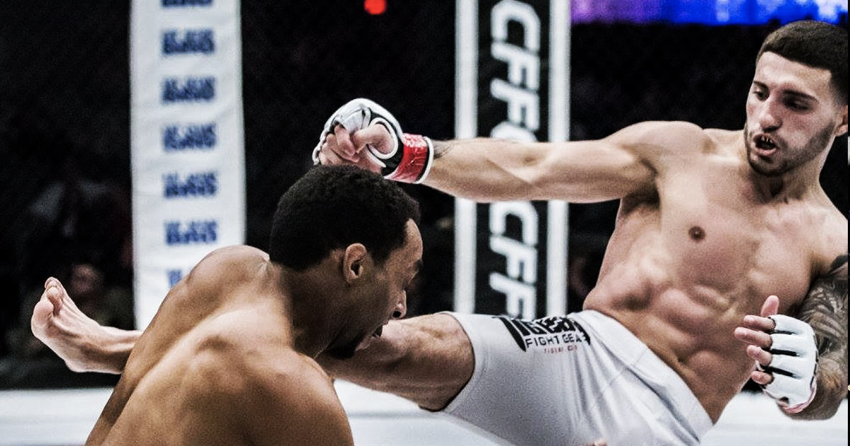 Knockout of the Year - Santo Curatolo vs Robiel Tesfaldet // CFFC 69Paging