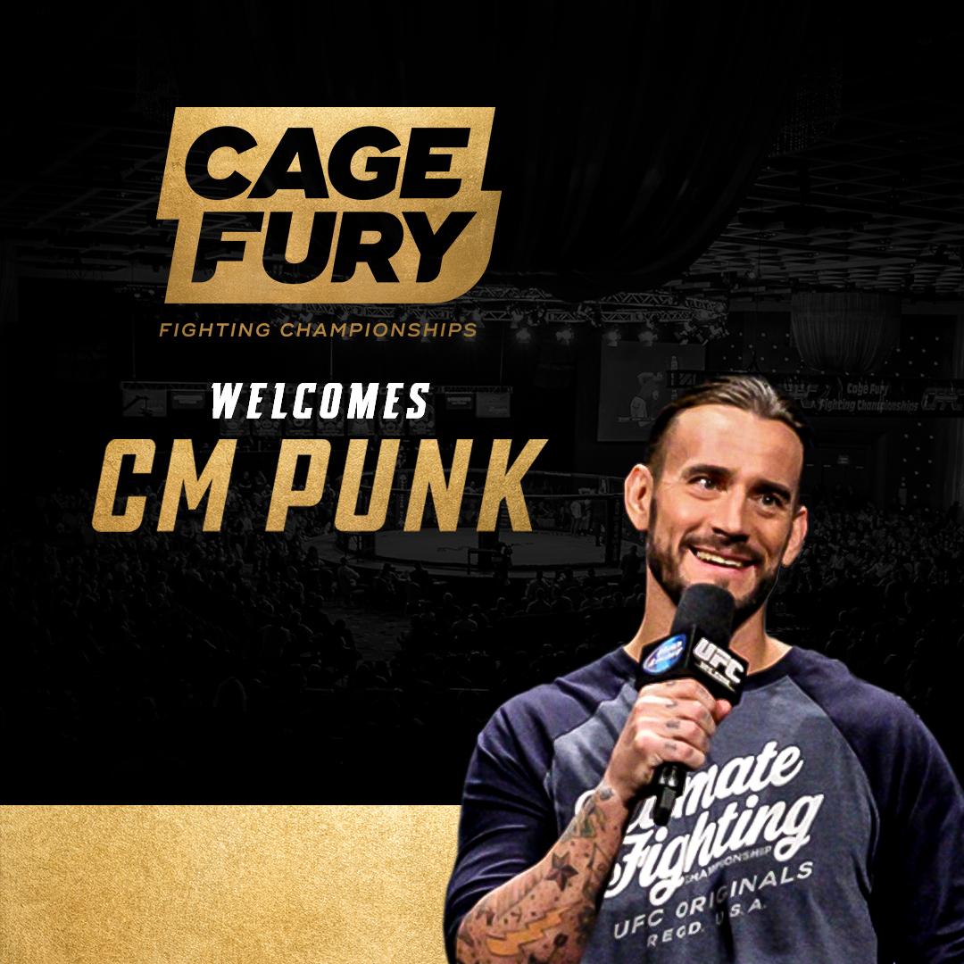 CM Punk joins CFFC on UFC Fight Pass