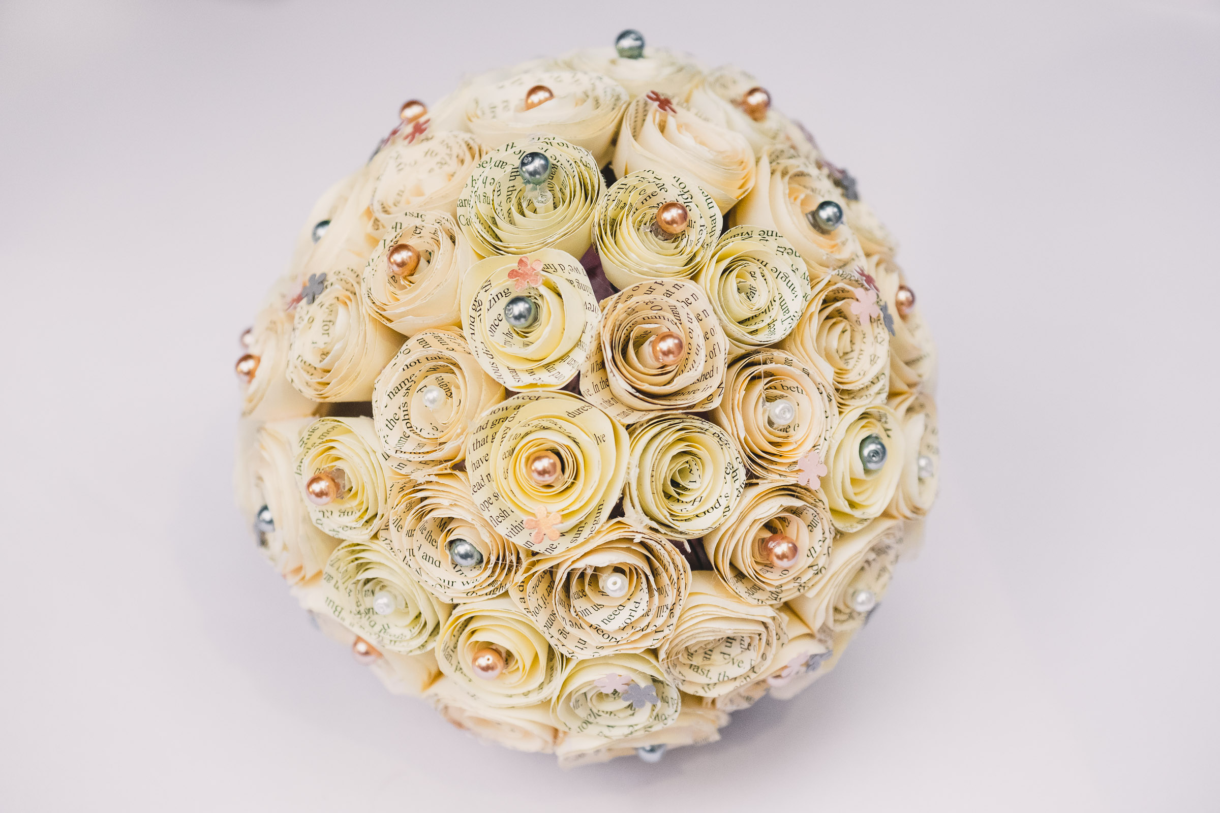 Absolutely beautiful, unique and personal wedding flowers