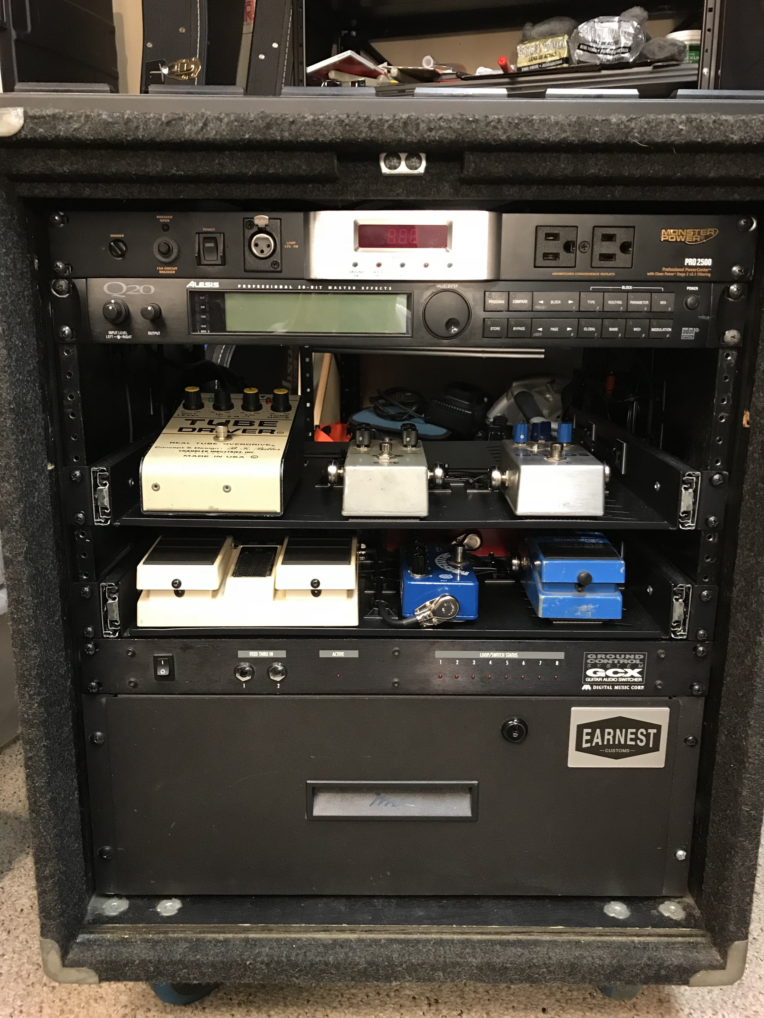 Custom Rack Wiring (Front)