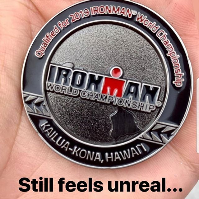 Huge congratulations to Fabia on qualifying for Kona!  No one works harder.  This couldn't happen to a better person. With @fabia_maramotti #amazingfabia #konaqualifier #breakawayendurance
