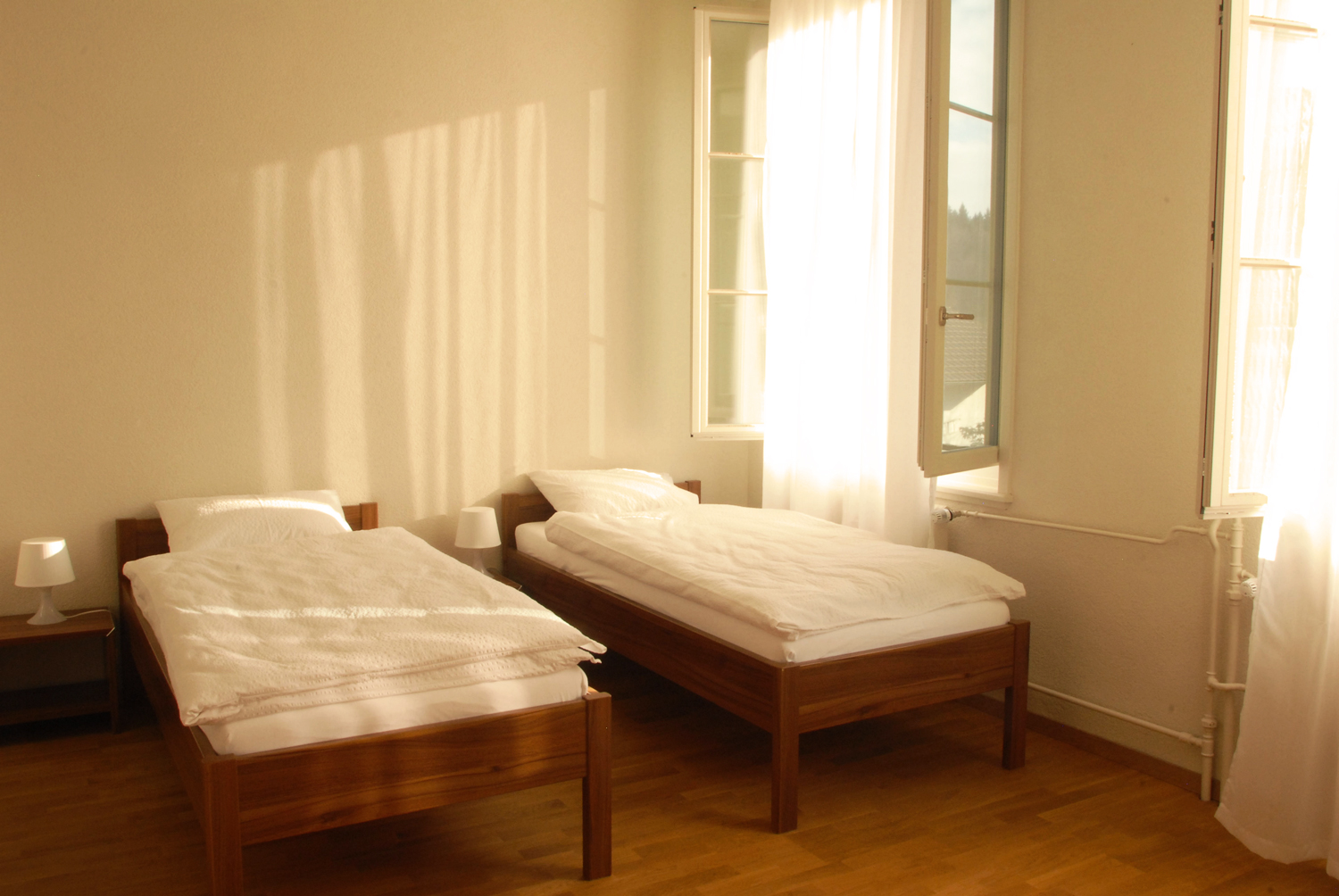 The Landguet Ried Center offers comfortable rooms - an invitation to deep relaxation.