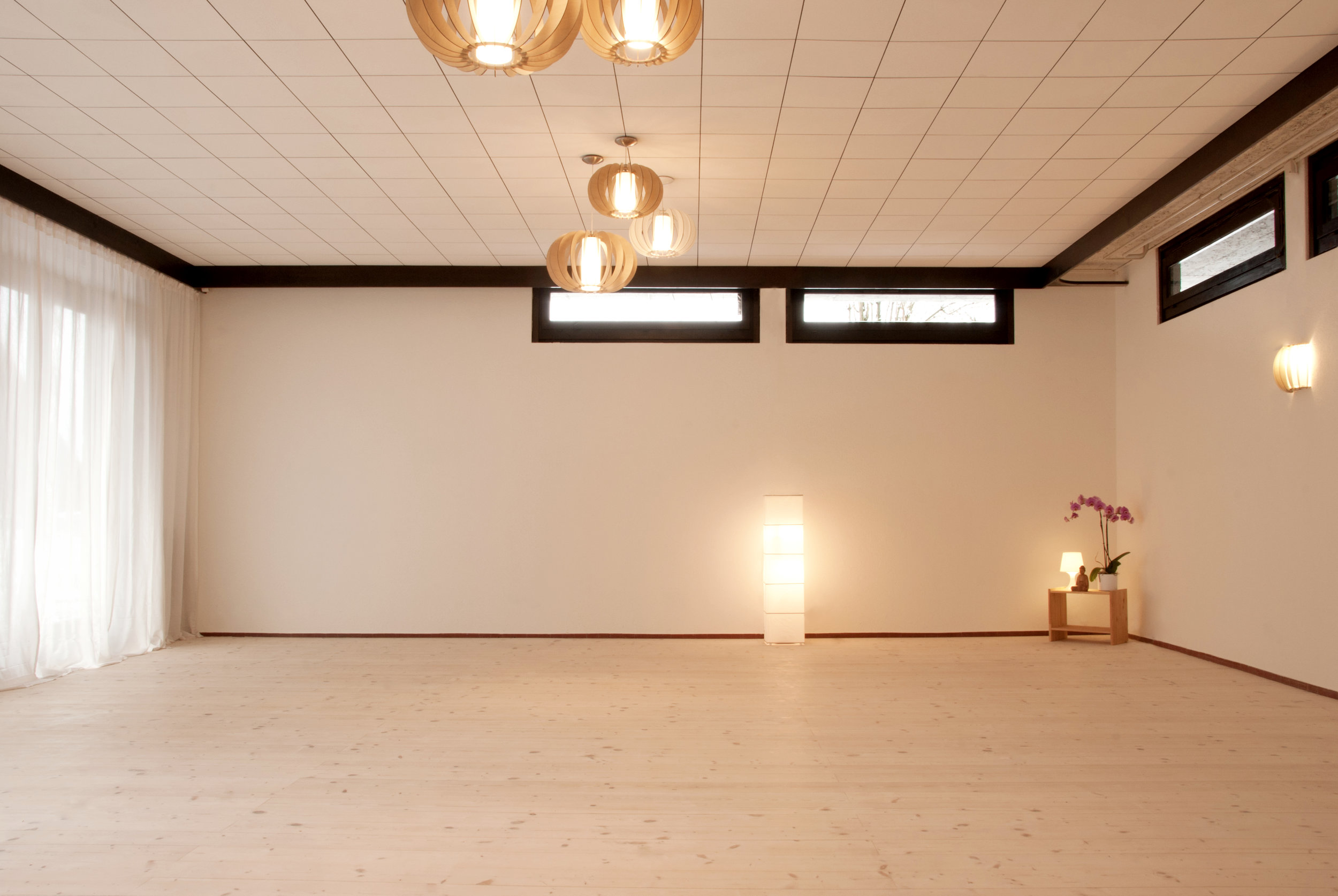 Der Seminarraum Yogi ist der ideale Bewegungsraum für mittelgrosse Gruppen.