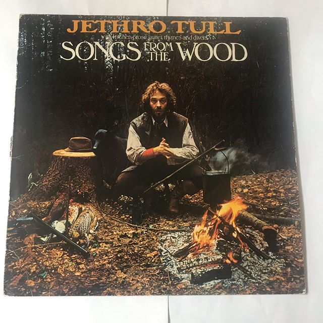 #jethrotull (songs from the wood ) now spinning at sounds ok