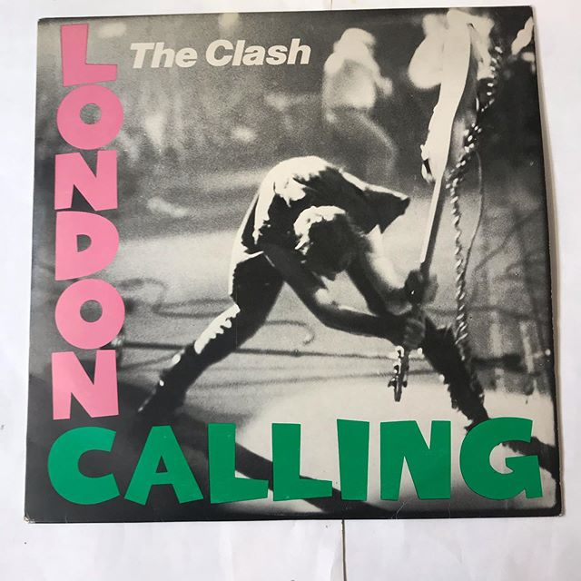 National album day today 12th October what's your favourite here's a classic #theclash London calling