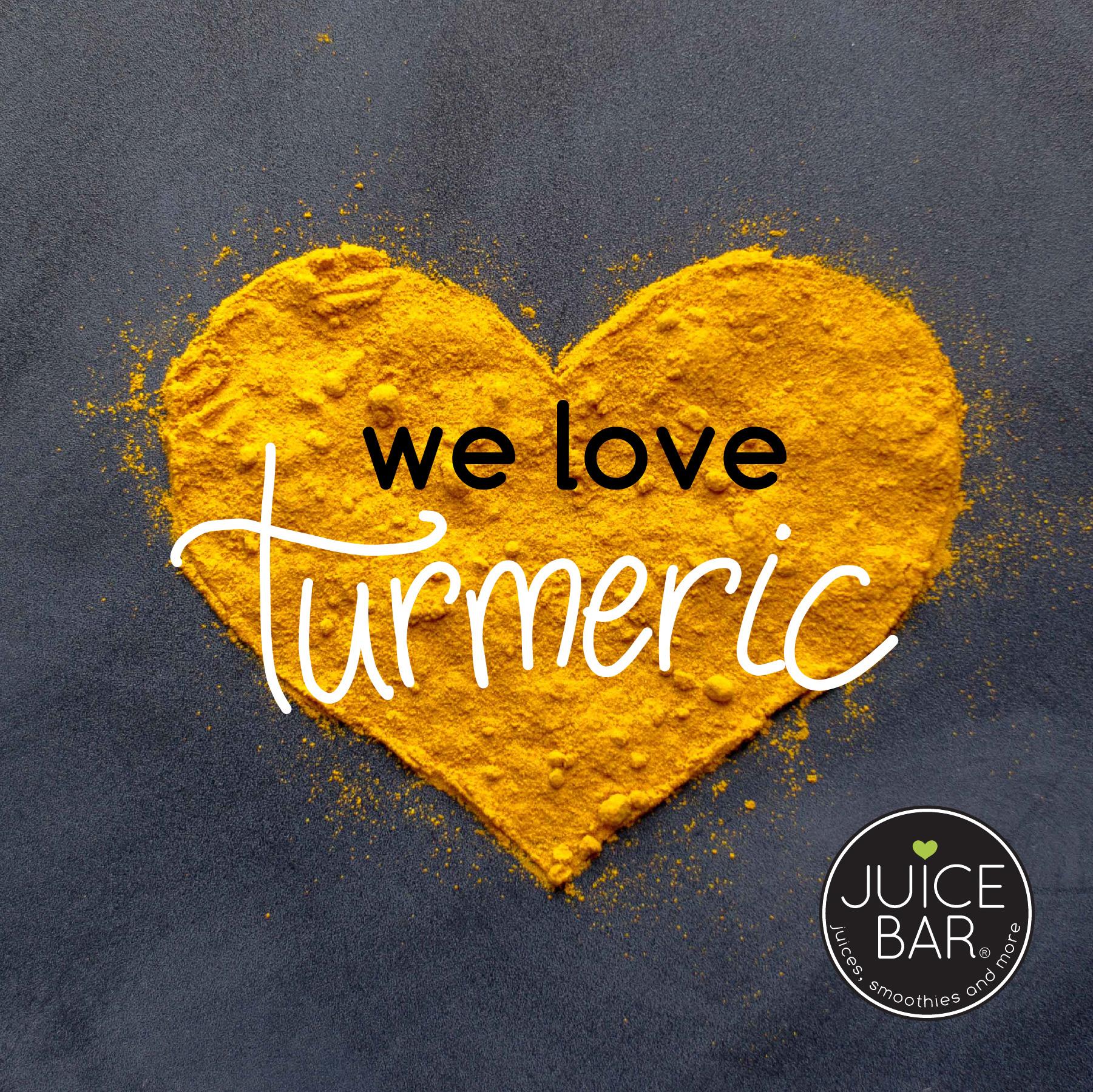We love turmeric!