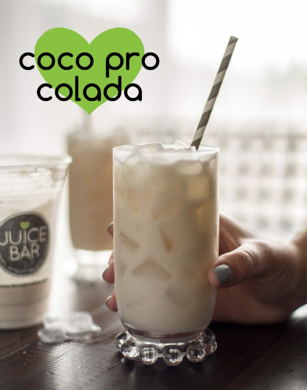 Coco Pro Colada Recipe from I Love Juice Bar