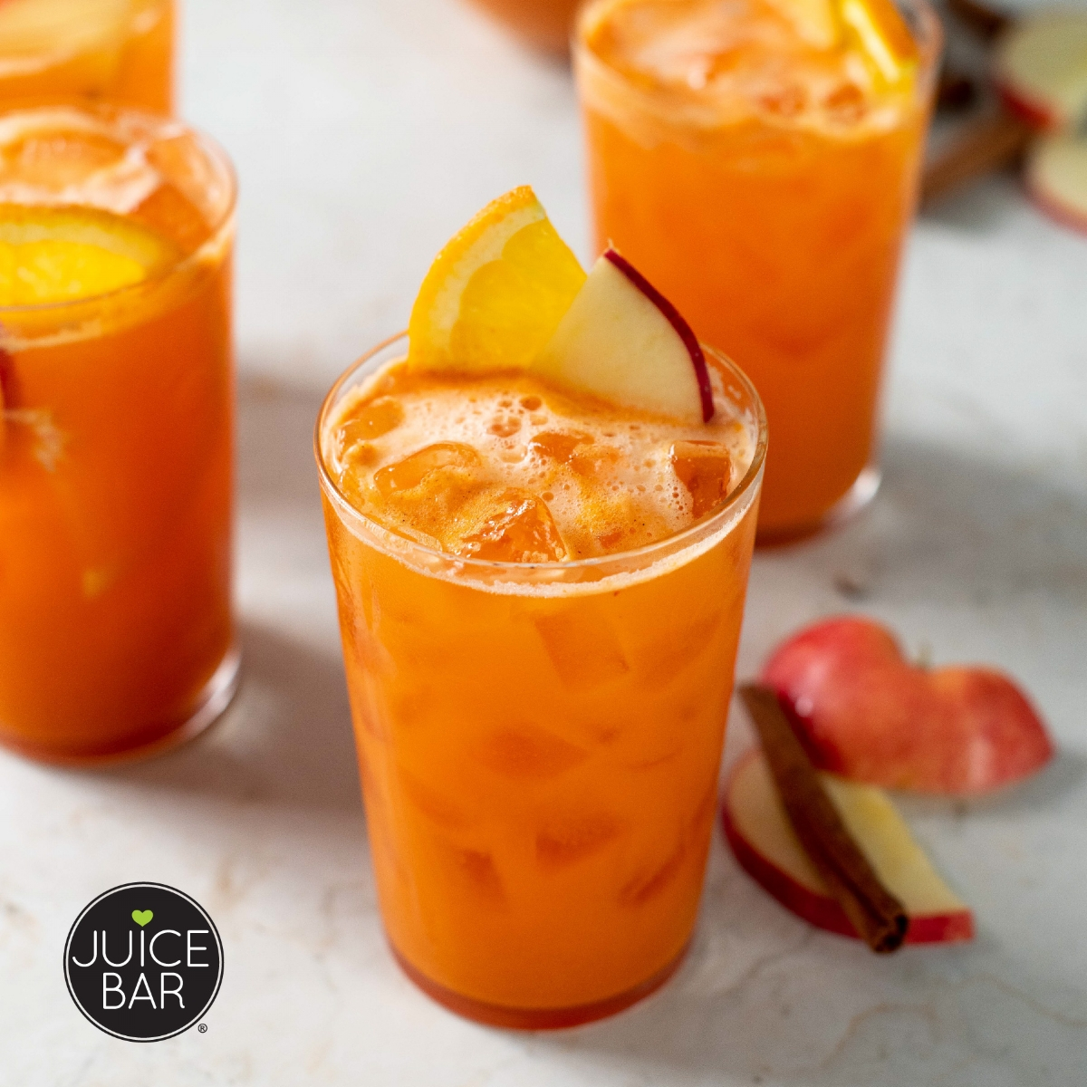 Ginger Spice Prosecco Punch Recipe | I Love Juice Bar