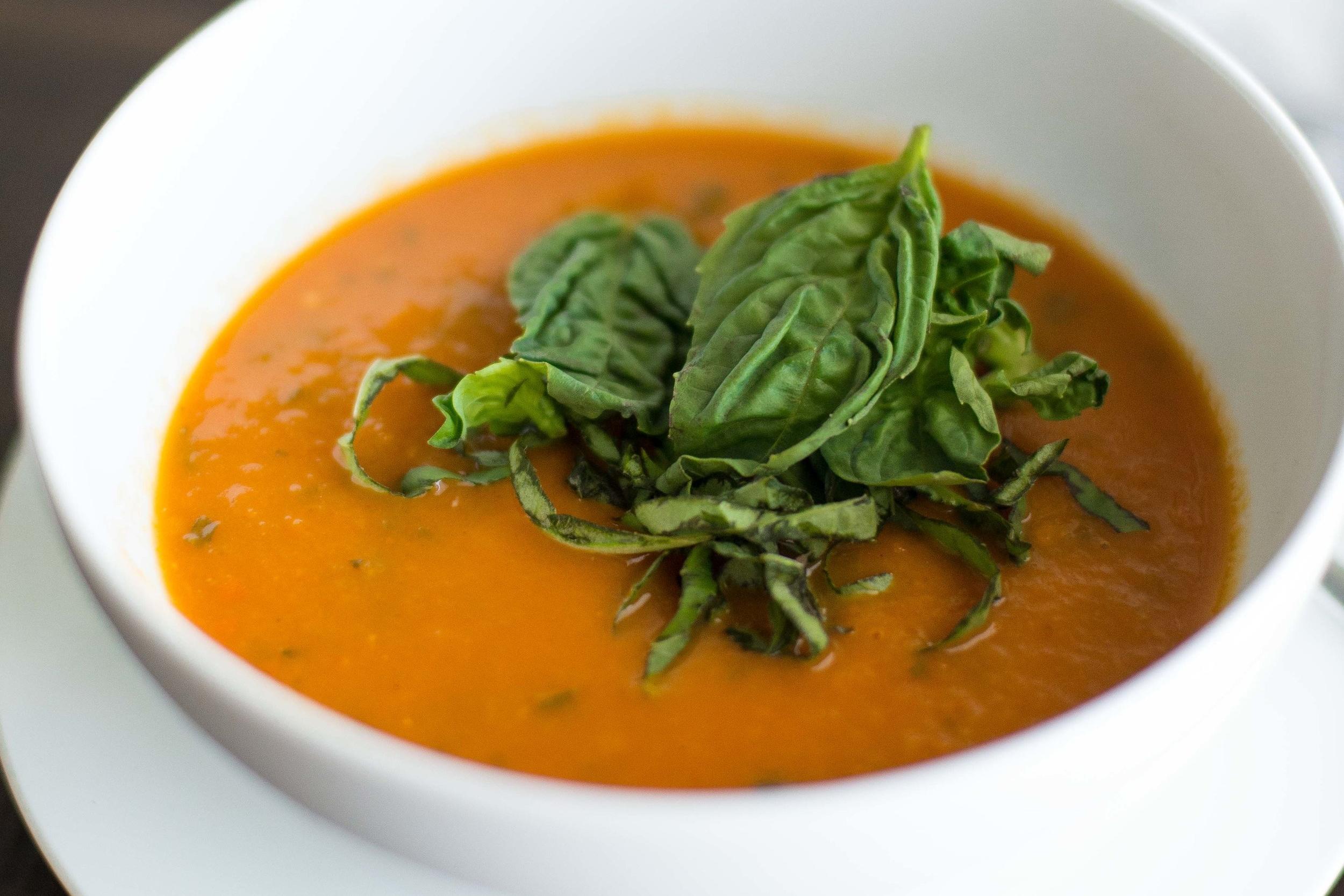 Tomato Basil Soup Juice Bar