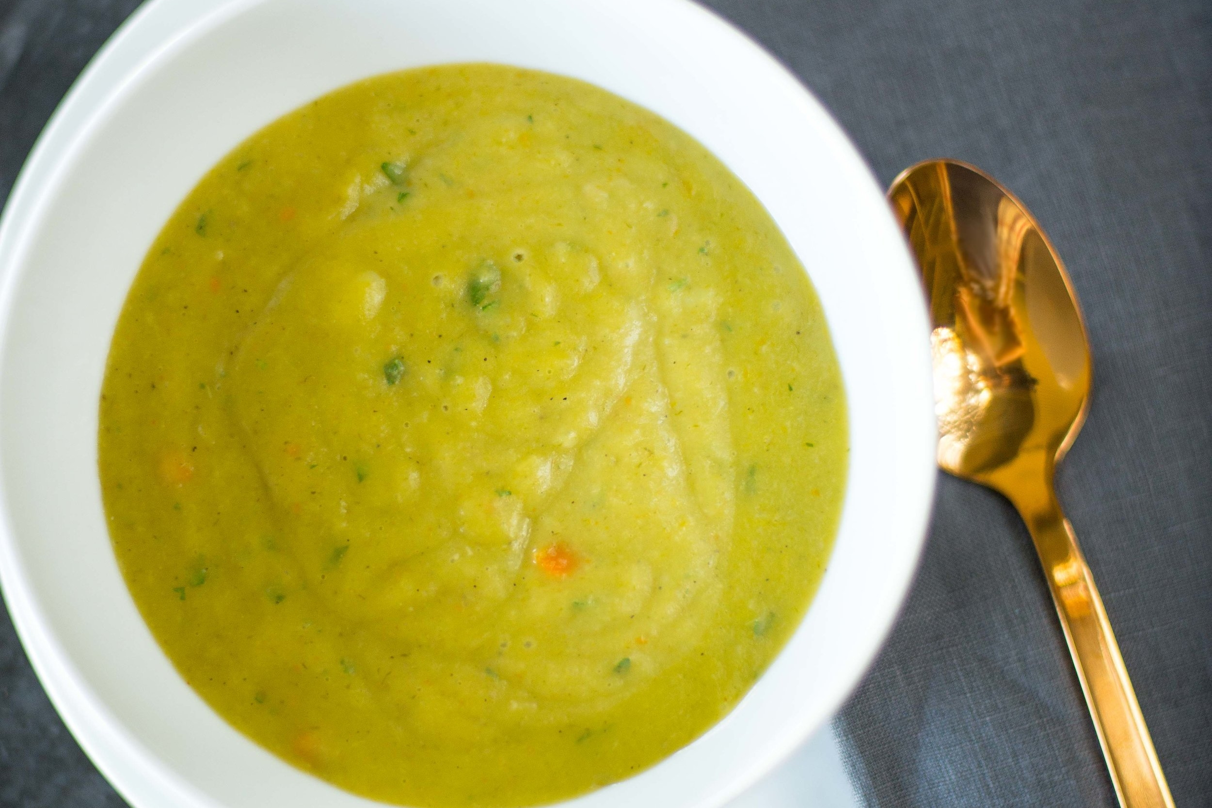 Potato Leek Soup Juice Bar