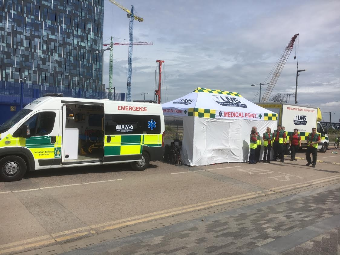 First Aid Centre Tent