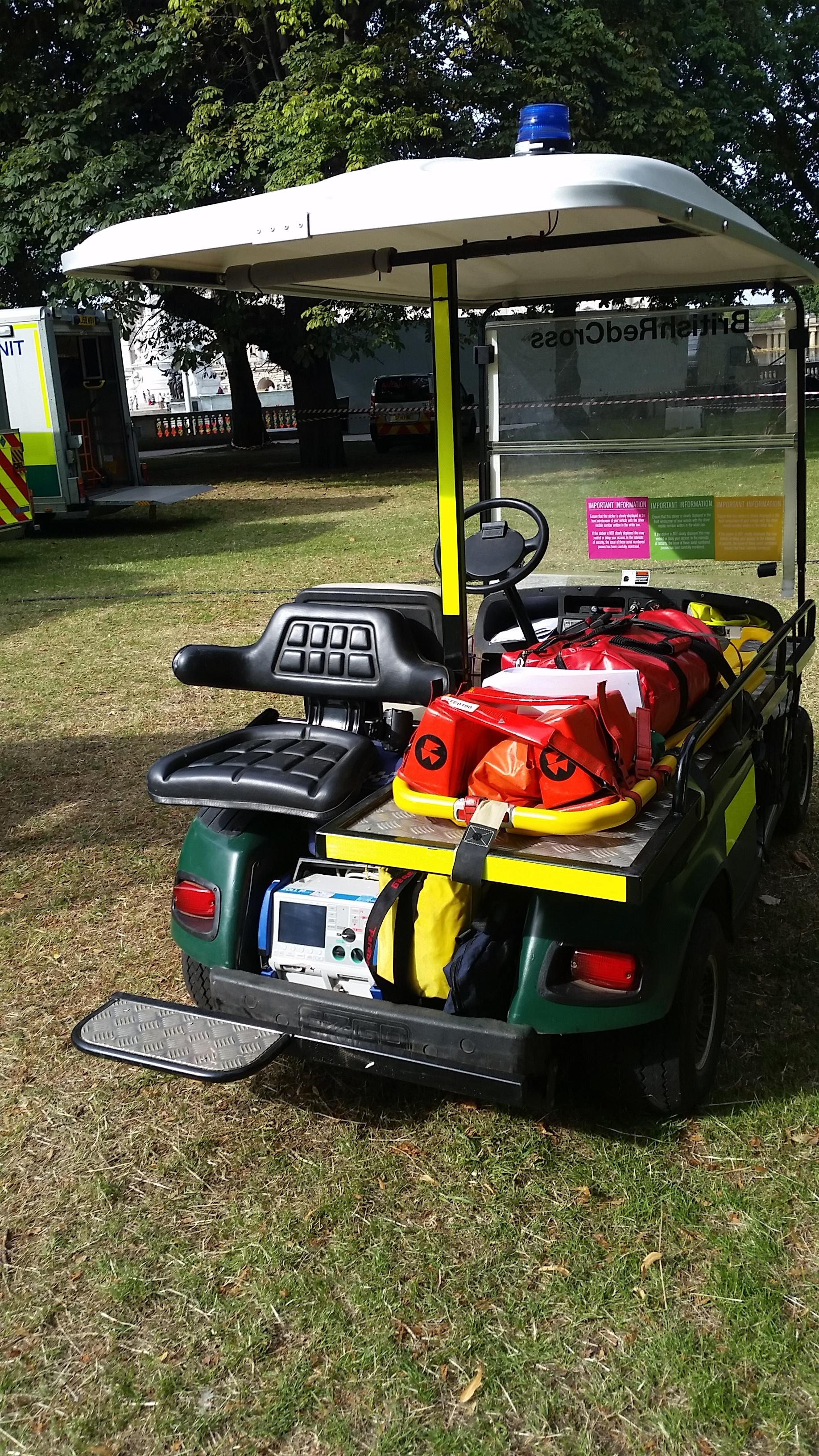 Paramedic Golf Buggy Responder