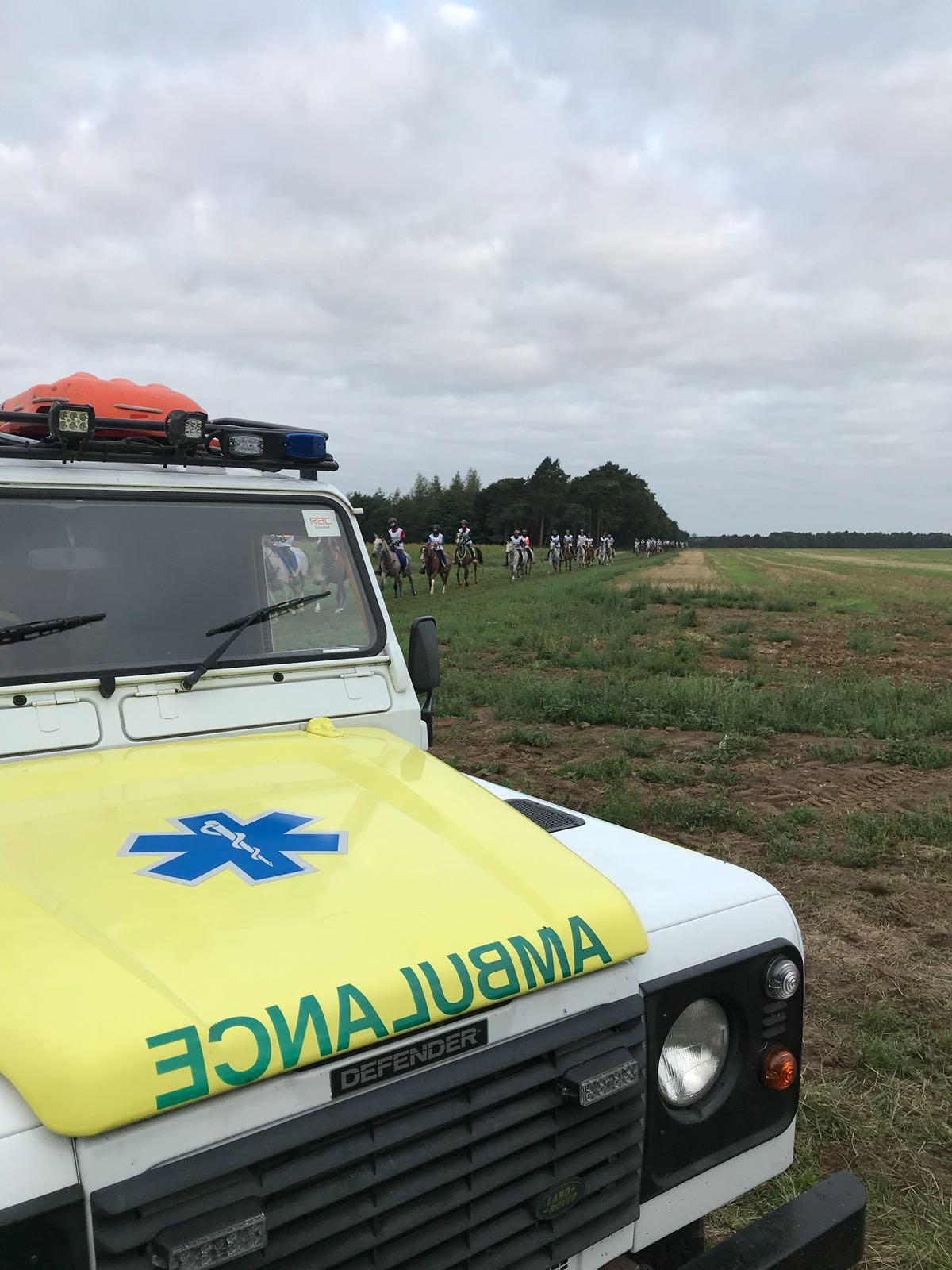 Off Road Paramedic Ambulance equestrian Cover