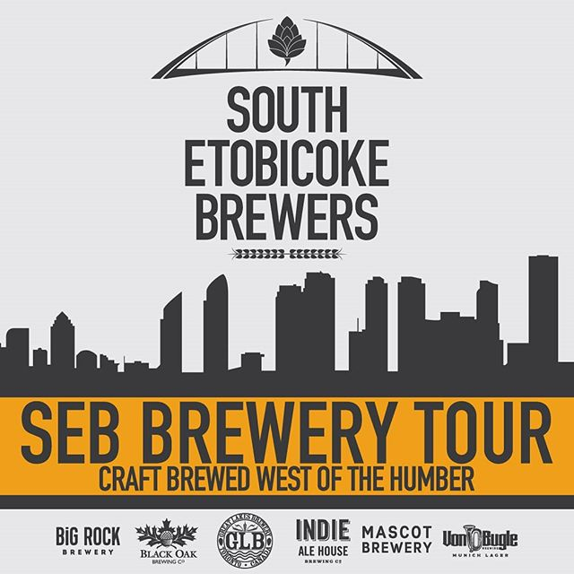 THIS SATURDAY! Buy your tickets now for August 24th @southetobicokebrewers Tour #2 where you'll get a chance to check out so many amazing breweries including @mascotetobicoke.  Come on out and support craft beer. Learn more and get your ticket now at link in bio or here: https://www.showpass.com/sebbustoursummer2019/  Participating breweries include: @bigrockbrewery, @blackoakbrewing, @greatlakesbeer, @indiealehouse, @vonbuglebrewing and yours truely @mascotbrewery!   #mascotbrewery #mascotetobicoke #craftbeer #southetobicokebrewers #torontocraftbeer #torontobeer #torontobeertours #torontofood #bestoftoronto