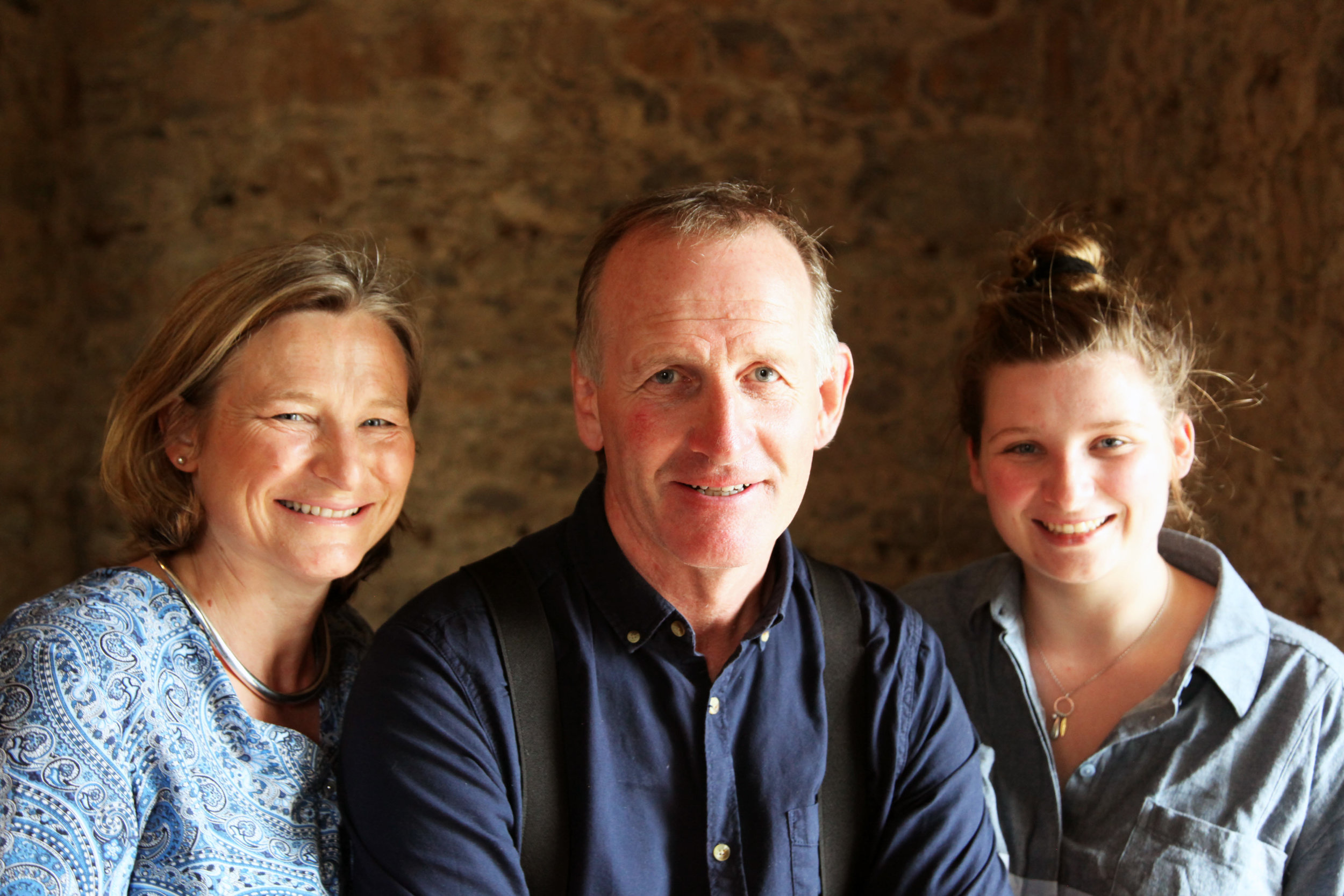 The Family - Peter Baker, his wife Sarah and their children; Julie, Holly and Sam are the proud residents of Cloughjordan House today. Over the past decade or more, they have transformed Cloughjordan House from a dairy farm into a magical destination with the best in food, atmosphere and accommodation. The family live in their own wing of the main house and welcome guests as though they are friends and family, even the family dogs Louis and Monty are available for a belly rub during your stay.