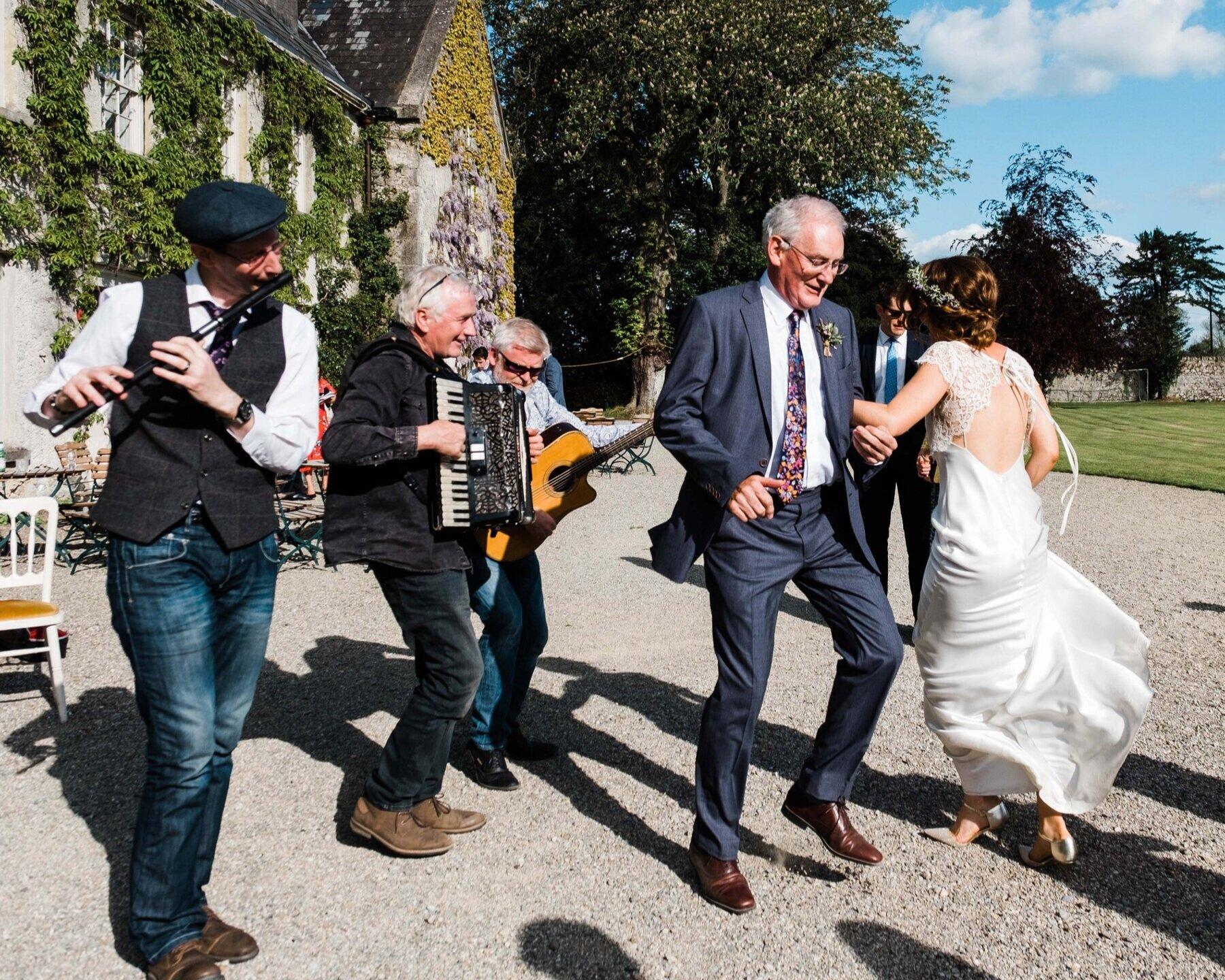 Cloughjordan House - Irish Wedding Traditions