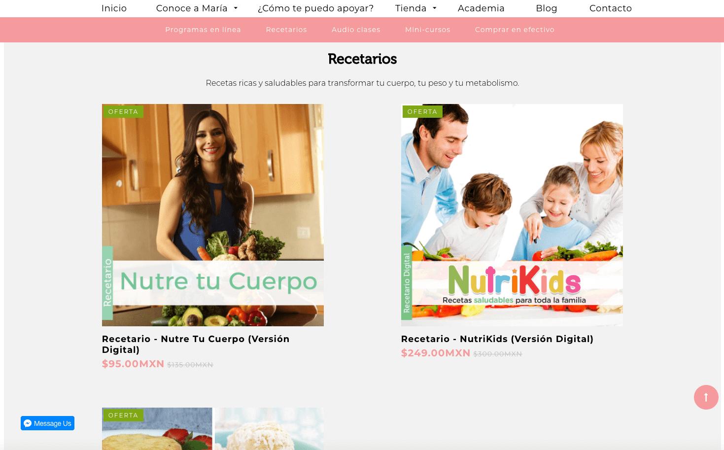 Tienda en línea de Maria Montemayor.png